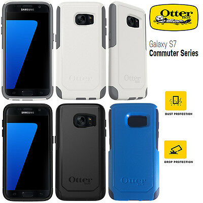 Genuine Otterbox Commuter Series Shock Proof Tough Case Cover Samsung Galaxy S7