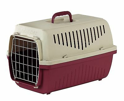 Marchioro Skipper Deluxe Pet Travel Carrier Crate Size 2 Red For Dogs & Cats
