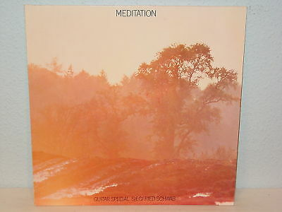"***guitar Special Siegfried Schwab""meditation""-12""lp***"