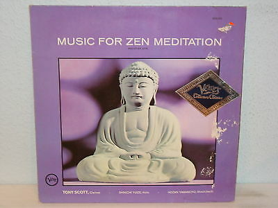 "Tony Scott & Shinichi Yuize""music For Zen Meditation""lp"