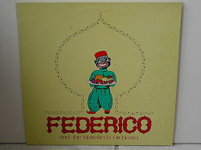 "****FEDERICO AND THE MARAKESCH ORCHESTRA-Same-12""LP****"