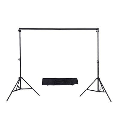 Phot-R 3 m x 3 m Portable Photo Studio Backdrop Support System Kit with Carry Ca