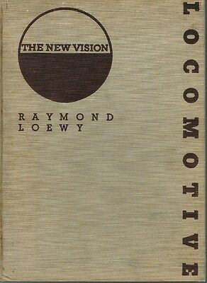 "Book: ""locomotive- The New Vision"" - Raymond Loewy - Rare Collectible - (Ubs)"