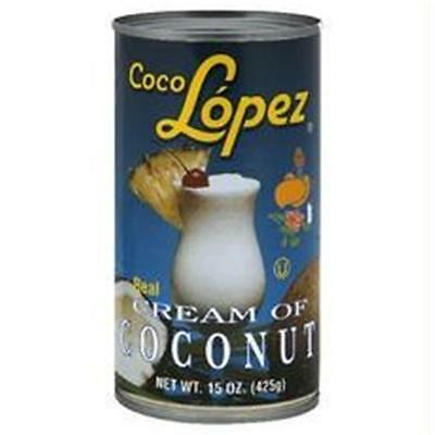 Coco Lopez B76481 Coco Lopez Real Cream Of Coconut -12x15oz