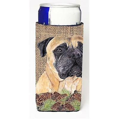 Carolines Treasures Mastiff Michelob Ultra bottle sleeves For Slim Cans 12 oz.
