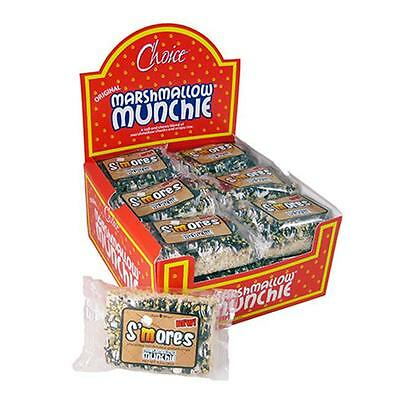 Angela Maries 6005 S'mores Marshallow Munchie Rice Crispy Square 18 pack
