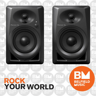 Pioneer DM-40 Studio Monitor Speakers Compact Active Pair 4'' DM40 - BNIB - BM
