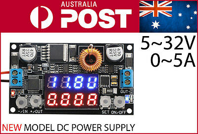 Adjustable DC Power Supply Variable Step down 0~30V 0-5A 30W Adapter CC CV Buck