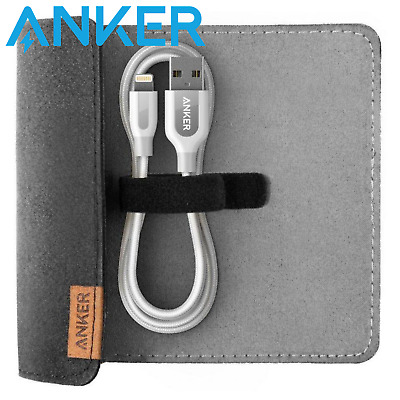 Anker PowerLine+ USB to Lightning 1.8m Cable White with Pouch