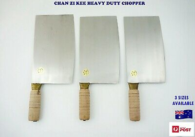 NEW Handmade Chan Zi Kee Heavy Duty Chopper Cleaver - Meat, Bone (C303)