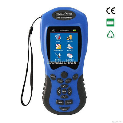 H● NF-198 GPS Test Devices GPS Land meter Can display measuring value, fi