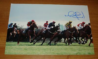 Mick Fitzgerald Signed Photo Rough Quest National 1996