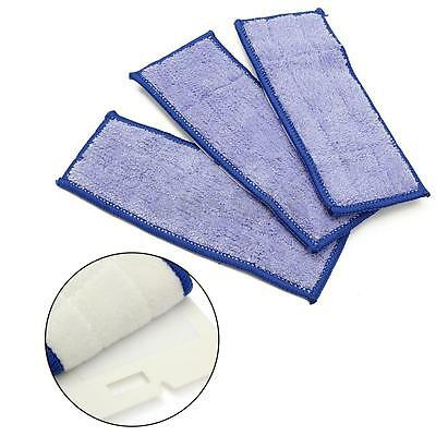 "3X Replacement Washable Wet Mopping Pads for Braava Jet 240 Cleaner 7"" x 2.7"""