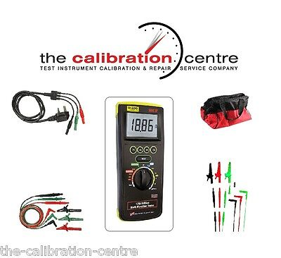 Replacement Test Leads & Accessories For Di Log Dilog 9083P Multifunction Tester
