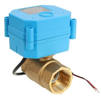 "G3/4"" DN20 (reduce port) DC12V 2 Way Control Motorized Electrical Ball Valve"
