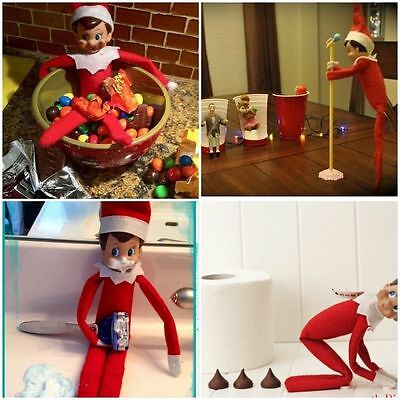 New Elf On The Shelf Book and elf *UK SELLER*WITH GIRL ELF DOLL ...