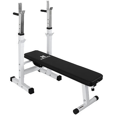 Hardcastle Folding Weight Bench & Dip Station Lifting/Chest Press Situp Home Gym
