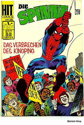 Comic - Die Spinne Nr 96 - Spider-Man - Hit Comics Bsv