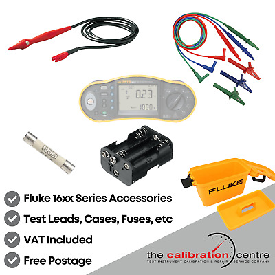 Replacement Test Leads & Accessories For Fluke 1652 Multifunction Tester