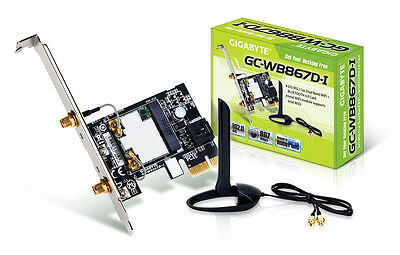 Gigabyte GC-WB867D-I 867Mbps Dual Band Wifi Bluetooth 4.2 PCI-E Card Adapter