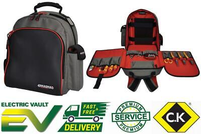 CK Magma Technicians Rucksack & Tool Bag / Case With Laptop Pocket MA2631