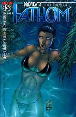 MICHAEL TURNER'S FATHOM PREVIEW VF/ NEAR MINT 1998 TOP COW IMAGE #bin16-1745