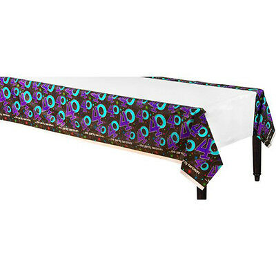 THE PARTY CONTINUES 40th BIRTHDAY PLASTIC TABLE COVER ~ Supplies Decorations