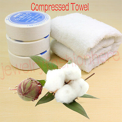 Magic Compressed Reusable Travel Face Bath cleaning Towel Portable Washcloth HG