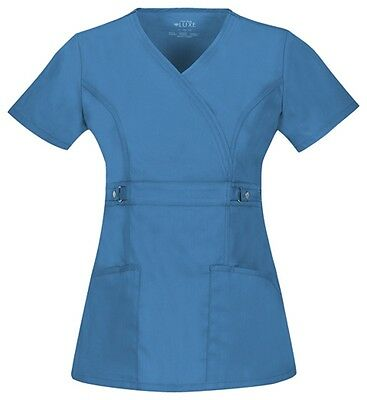 Cherokee Luxe scrub set female scrubs NEW with tags Choose size, JASPER BLUE