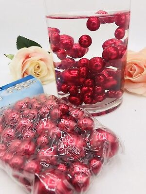 75gold Pearl Assorted Size Vase Filler Beads For Wedding Decor