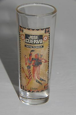 Jose Cuervo 1994 shot glass vintage