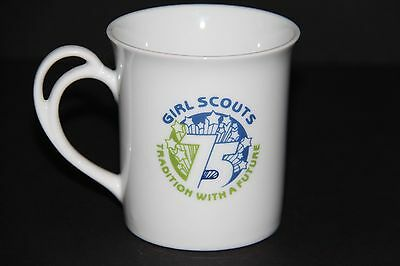 GIRL SCOUTS 75th 1987 San Fernado Valley coffee mug