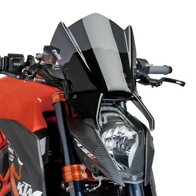 Ktm 1290 Superduke R 2014 > Cupolino Puig Fumé Scuro Naked Sport Parabrezza