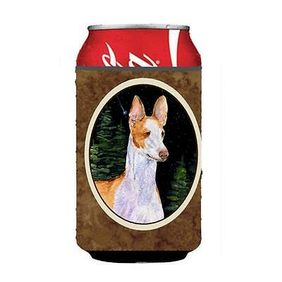 Carolines Treasures Starry Night Ibizan Hound Can Or bottle sleeve Hugger 12 oz.