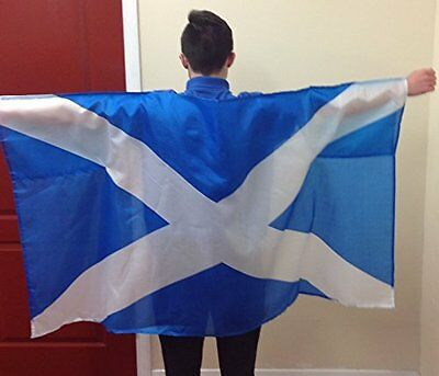 Wearable Scottish Flag St Andrews Cross