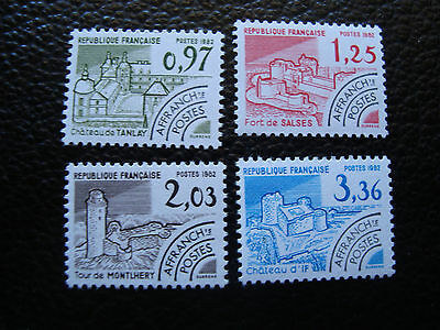 FRANCE - timbre yvert et tellier preoblitere n° 174 a 177 n** (A24) stamp (A)