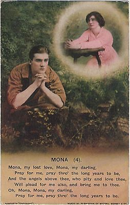 Postcard  Song Cards  Mona (4)