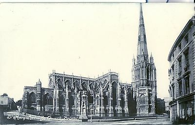 Postcard Bristol St Mary Redcliffe