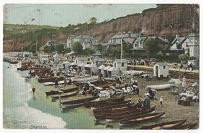 POSTCARD IOW SHANKLIN  The Beach