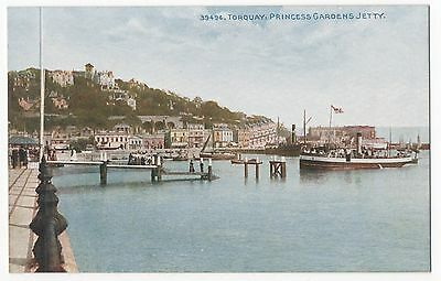 POSTCARD TORQUAY  Princess Gardens Jetty