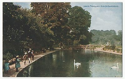 POSTCARD TORQUAY Kings Gardens