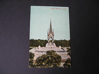 POSTCARD LONDON Albert Memorial