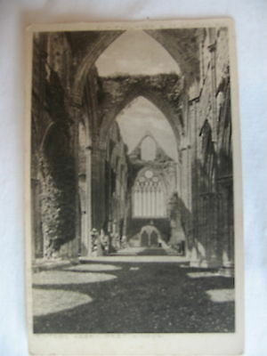 POSTCARD  TINTERN ABBEY West Window