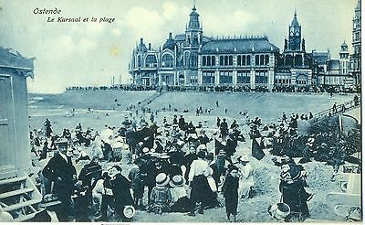 POSTCARD BELGIUM  OSTEND  The Beach