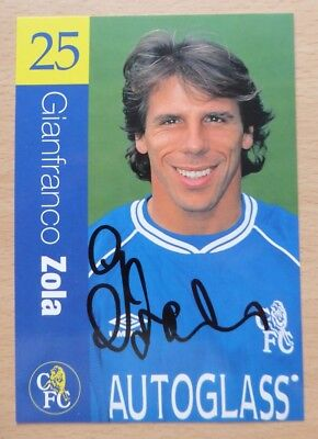1999-01 Chelsea Signed Official Club Cards