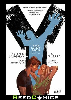 Y THE LAST MAN BOOK 5 GRAPHIC NOVEL New Edition Paperback Collects Issues #49-60