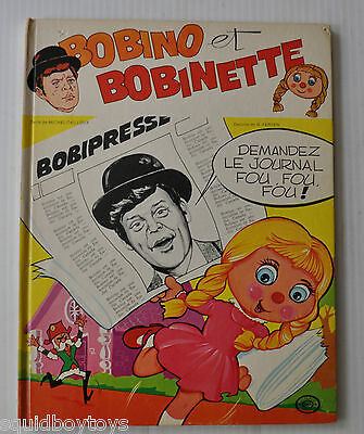 BOBINO et BOBINETTE BD French Comic Book 1973 Heritage Quebec