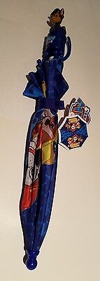 Toddler Unisex Nickelodeon Paw Patrol Ready Action Blue Umbrella NEW Ages 3+