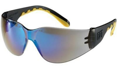 Caterpillar TRACK Protective Safety Anti-Scratch Work Sunglasses Glasses Blue