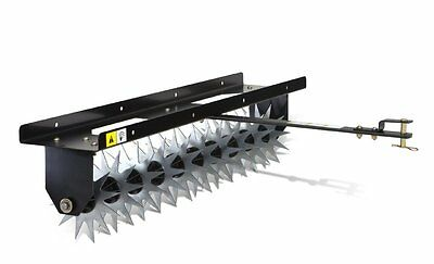Lawn Aerator Attachment Tools Spike 40 Inch Tow Behind Tractor Yard Garden Soil